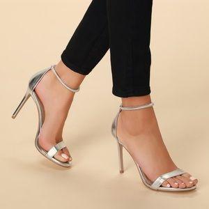 Steve Madden gold/champagne heels